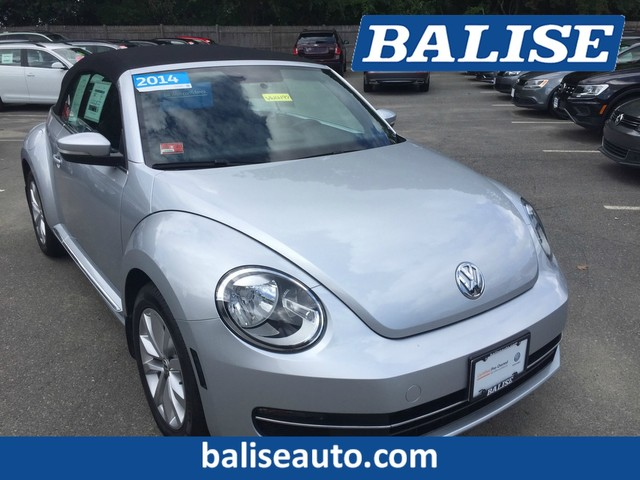 Pre-Owned 2014 Volkswagen Beetle Convertible 2.0L TDI