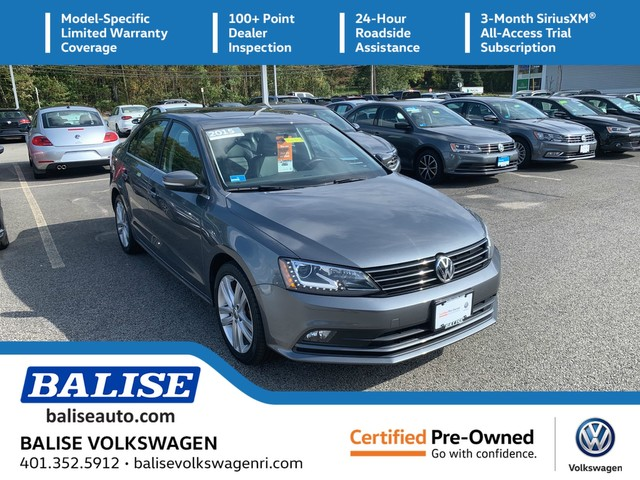 Certified Pre-Owned 2015 Volkswagen Jetta Sedan 1.8T SEL