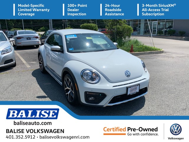 Certified Pre-Owned 2016 Volkswagen Beetle Coupe 1.8T Dune