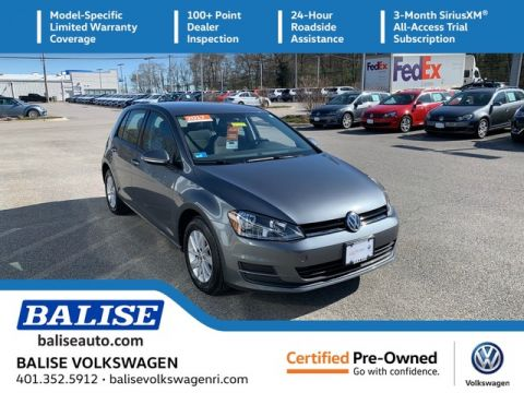 Certified Pre-Owned 2017 Volkswagen Golf S
