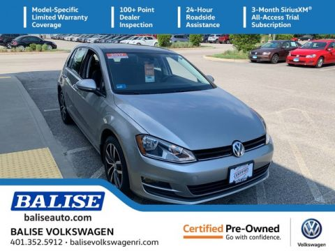 Certified Pre-Owned 2017 Volkswagen Golf SE