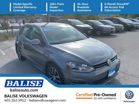 Certified Pre-Owned 2016 Volkswagen Golf TSI SE