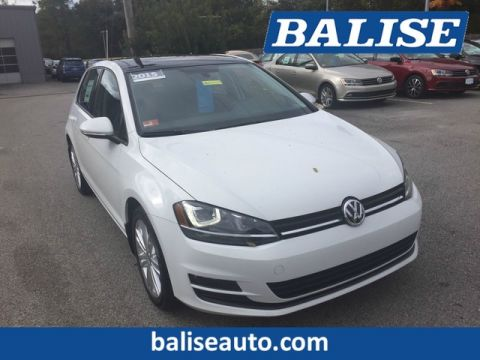 Certified Pre-Owned 2015 Volkswagen Golf TDI SE