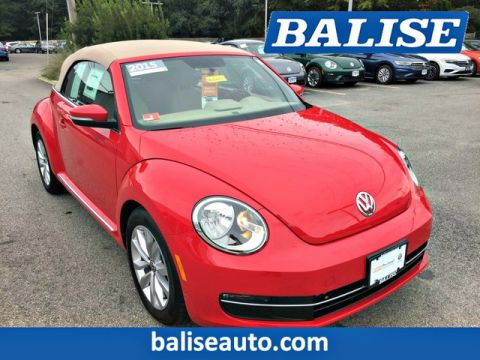 Certified Pre-Owned 2015 Volkswagen Beetle Convertible 2.0L TDI