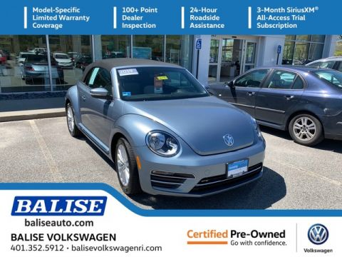 Certified Pre-Owned 2019 Volkswagen Beetle Convertible Final Edition SE