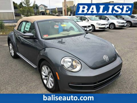 Certified Pre-Owned 2013 Volkswagen Beetle Convertible 2.0L TDI