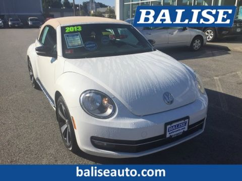 Pre-Owned 2013 Volkswagen Beetle Convertible 2.0T