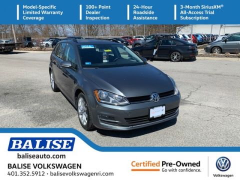 Certified Pre-Owned 2016 Volkswagen Golf SportWagen TSI SE