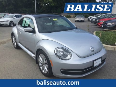 Certified Pre-Owned 2014 Volkswagen Beetle Coupe 2.0L TDI w/Sun/Sound/Nav