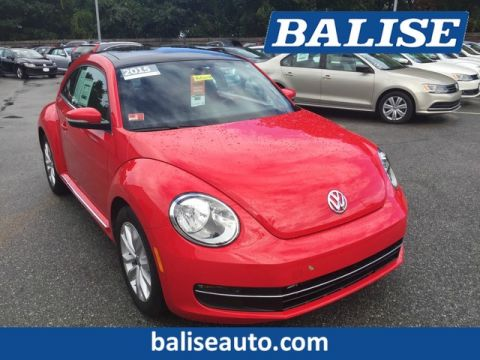 Certified Pre-Owned 2015 Volkswagen Beetle Coupe 2.0L TDI
