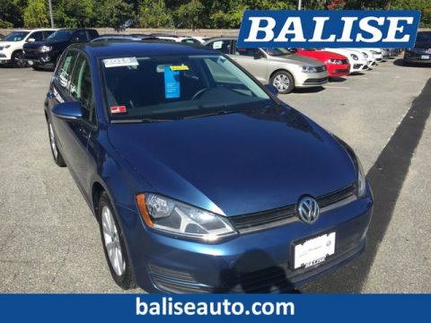 Certified Pre-Owned 2015 Volkswagen Golf TDI S